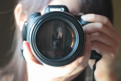 カメラレンズの画像